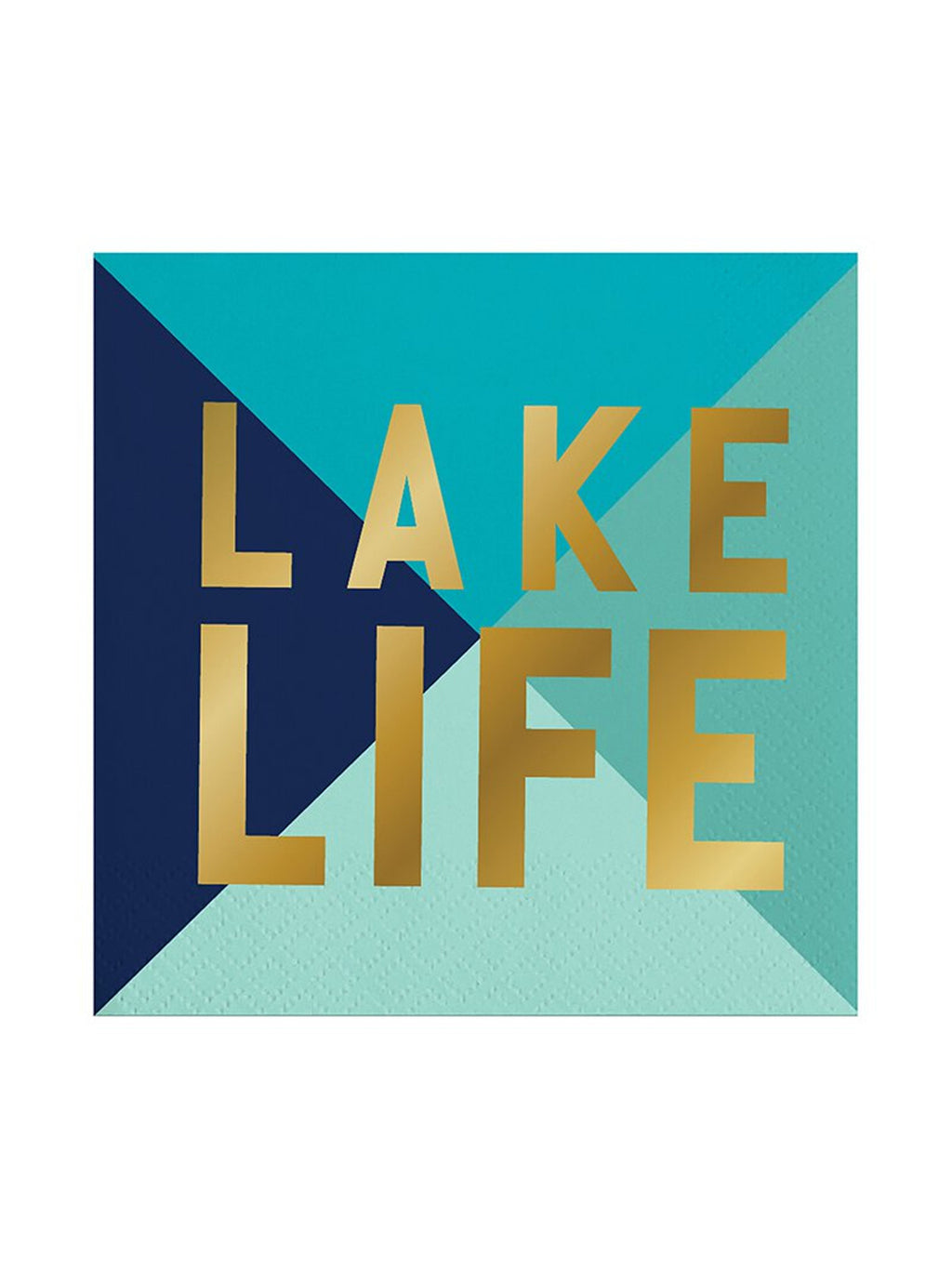 Lake Life Cocktail Napkins