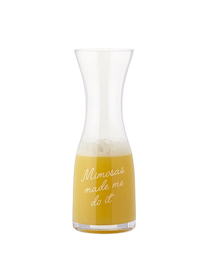 Mimosas Made Me Do It - Wine Carafe