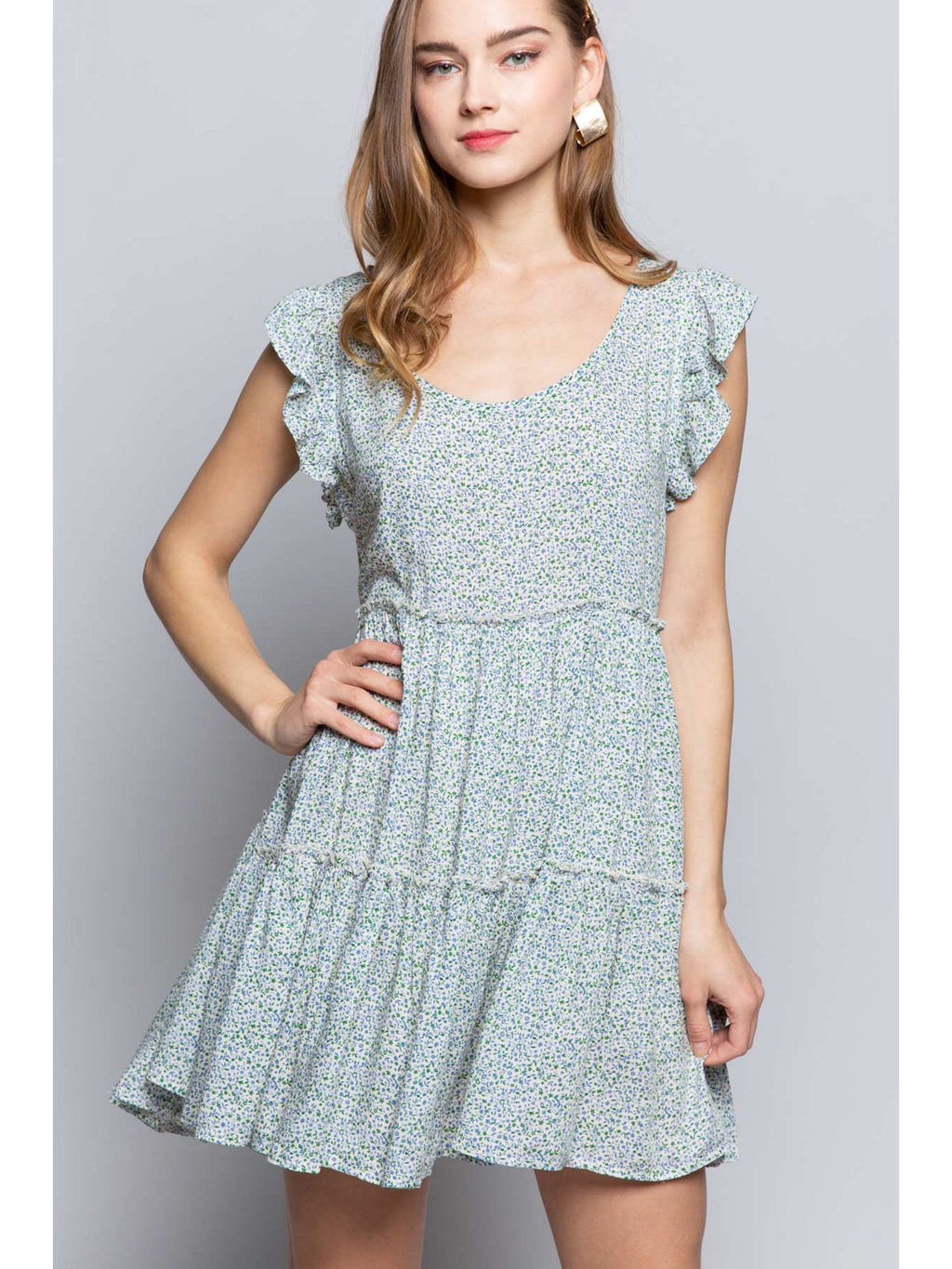 Fresh Air Floral Dress