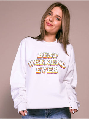 Best Weekend Ever Crewneck