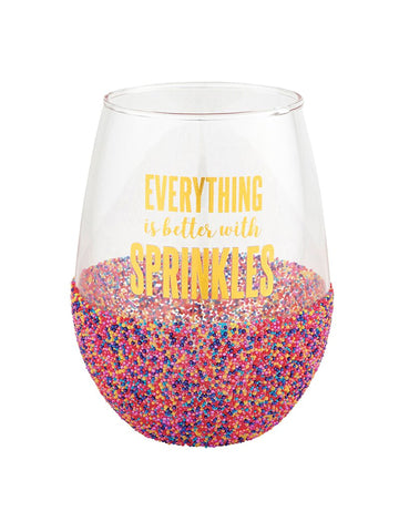 Fearless - Jumbo Wine Glass