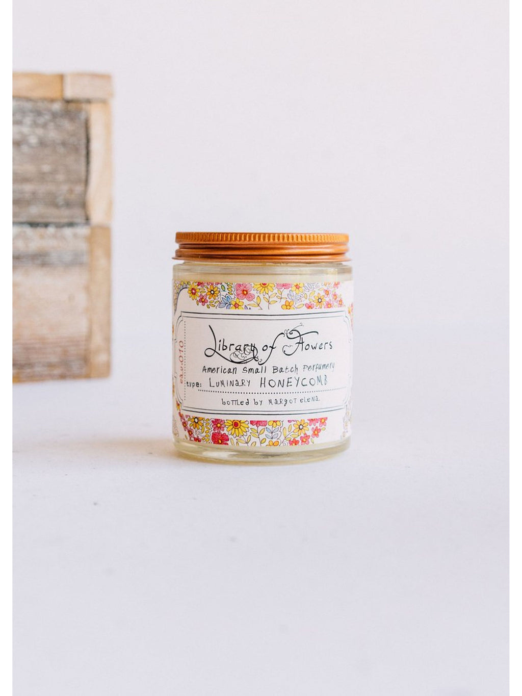 Honeycomb Candle - Library of Flowers