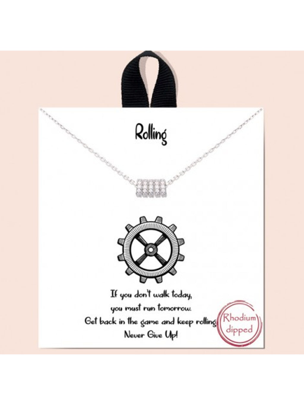 'Rolling' Necklace
