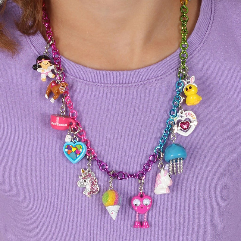 Rainbow Necklace Chain