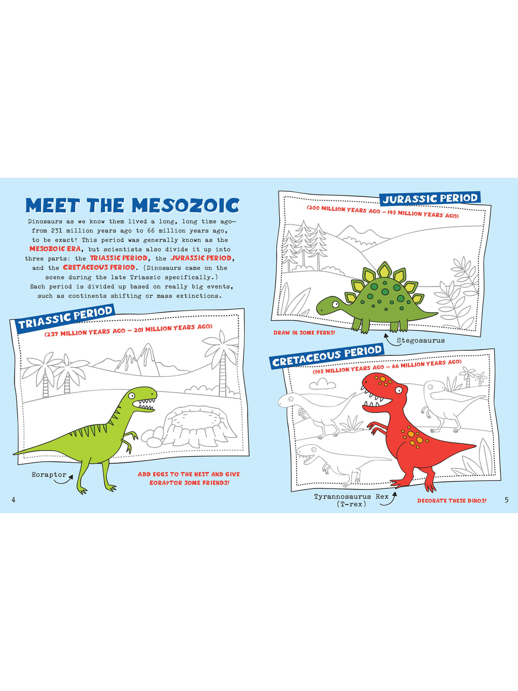 Dinosaurs & Friends Activity Book