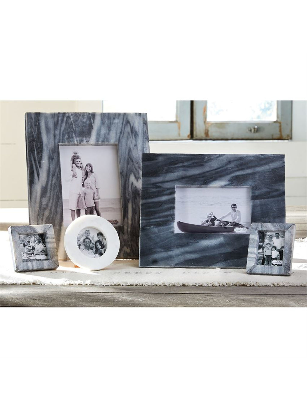 Grey Marble Picture Frame
