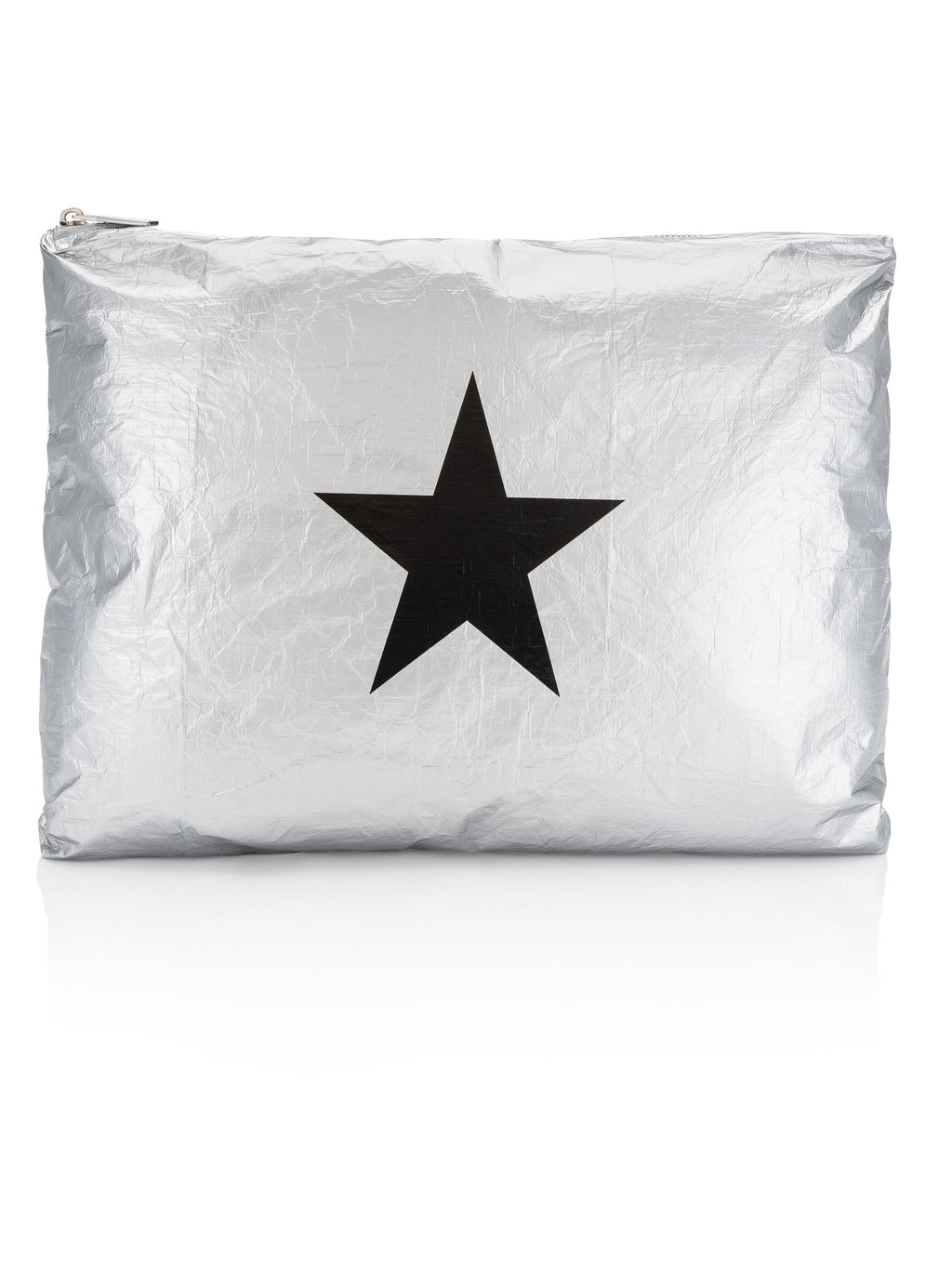 Jumbo Pack Metallic Silver Star Pouch