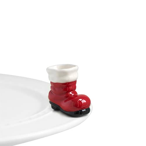 Nora Fleming Mini Santa Boots