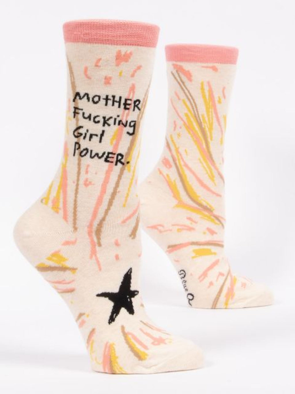 Motherf*cking Girl Power - Crew Socks (WOMENS)