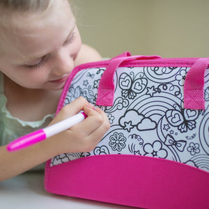 Color Your Own Purse