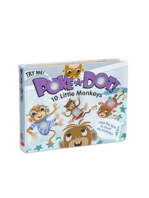 10 Little Monkeys - Poke-A-Dot Book
