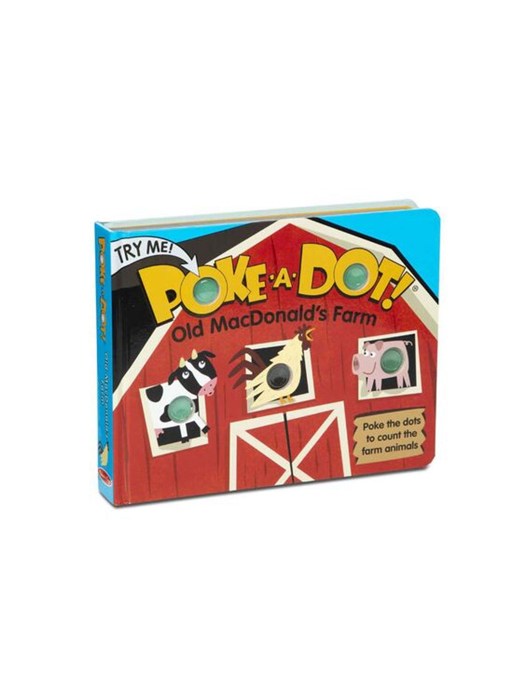 Old MacDonald's Farm - Poke-A-Dot Book