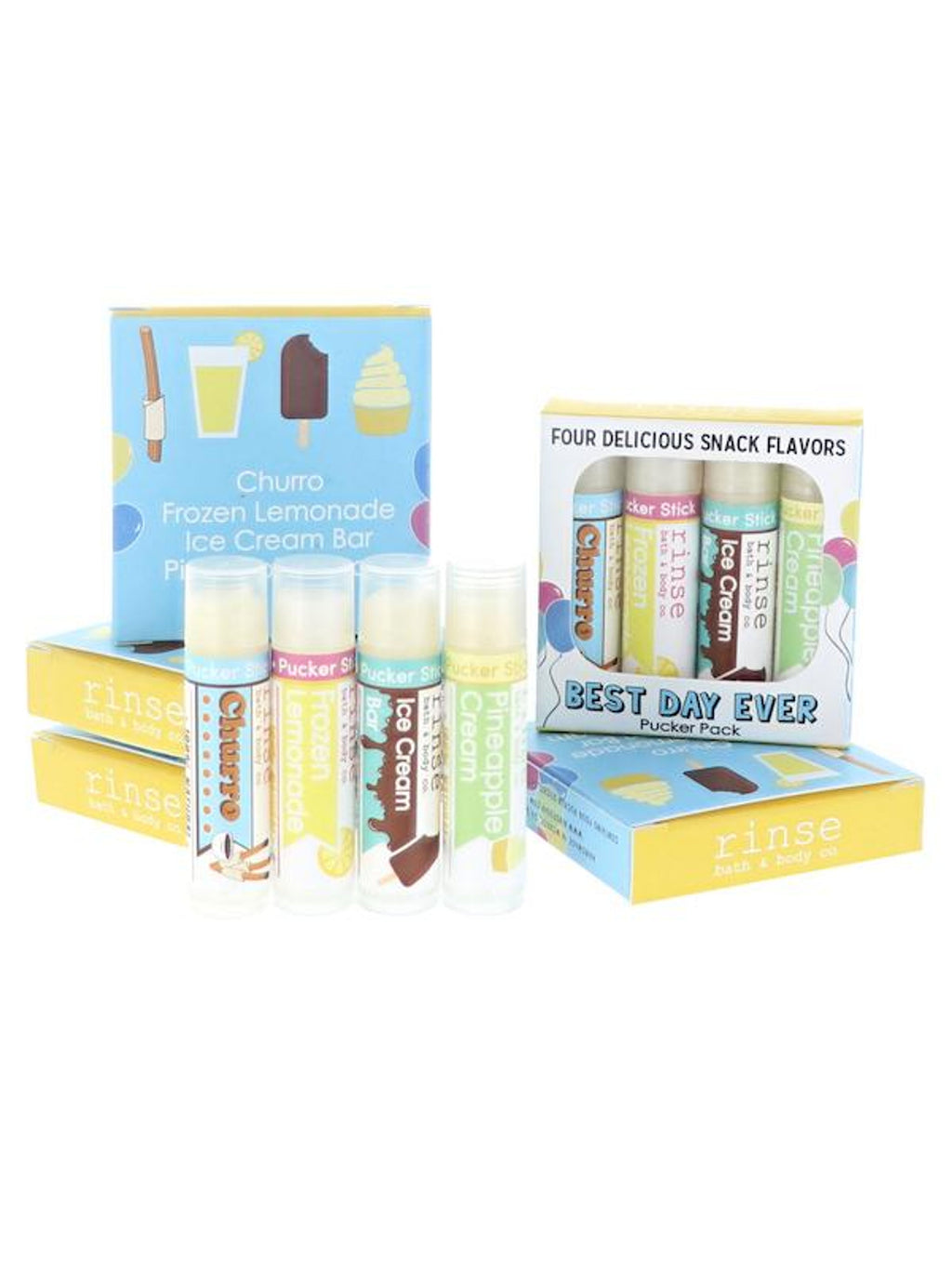 Beverage Lip Balm 4-pack
