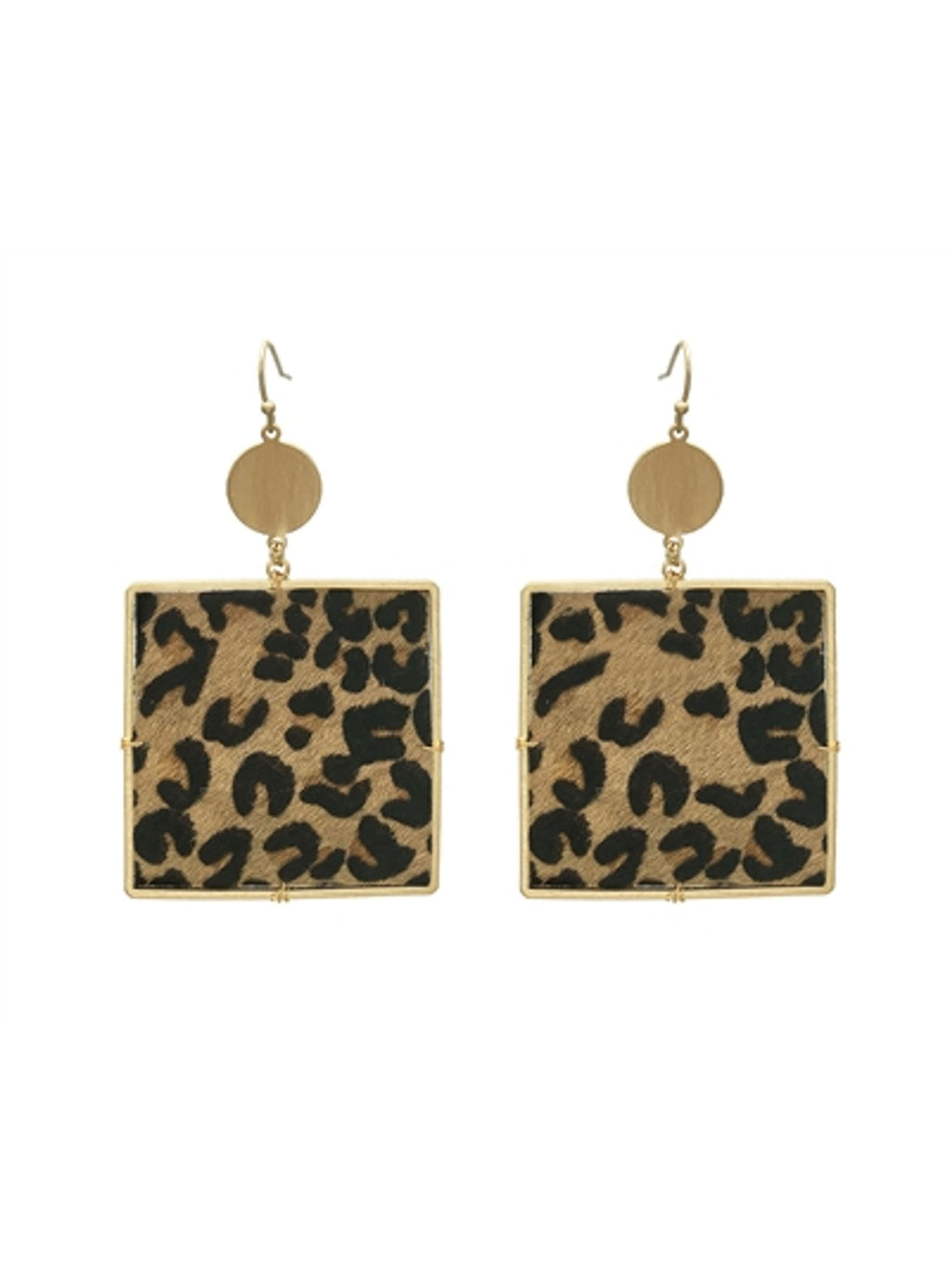 Isabel Leopard Print Earrings