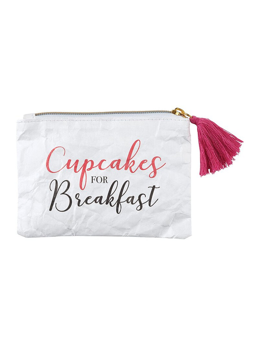 Cupcakes For Breakfast - Tyvek Coin Purse