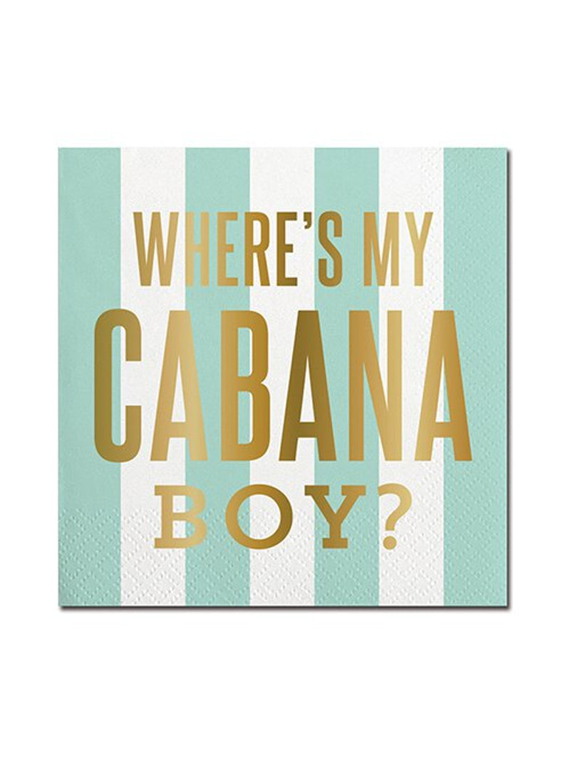 Cabana Boy - Cocktail Napkins