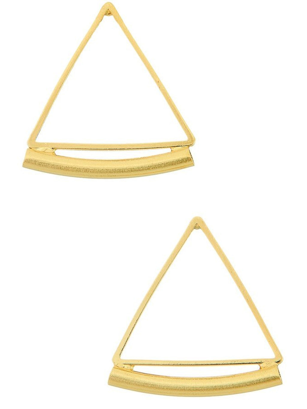 Mini Triangle Hoop