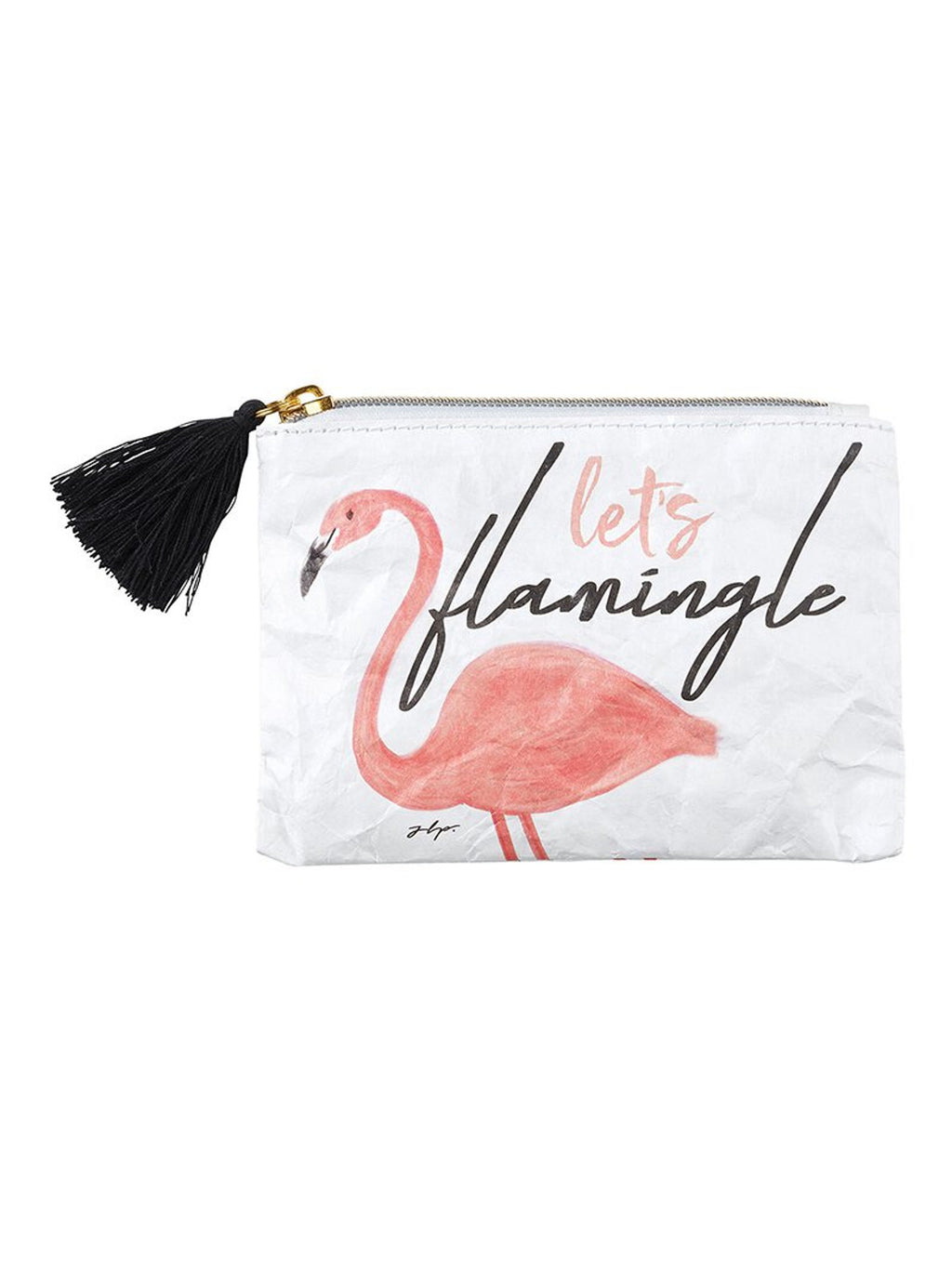 Let's Flamingle - Tyvek Coin Purse