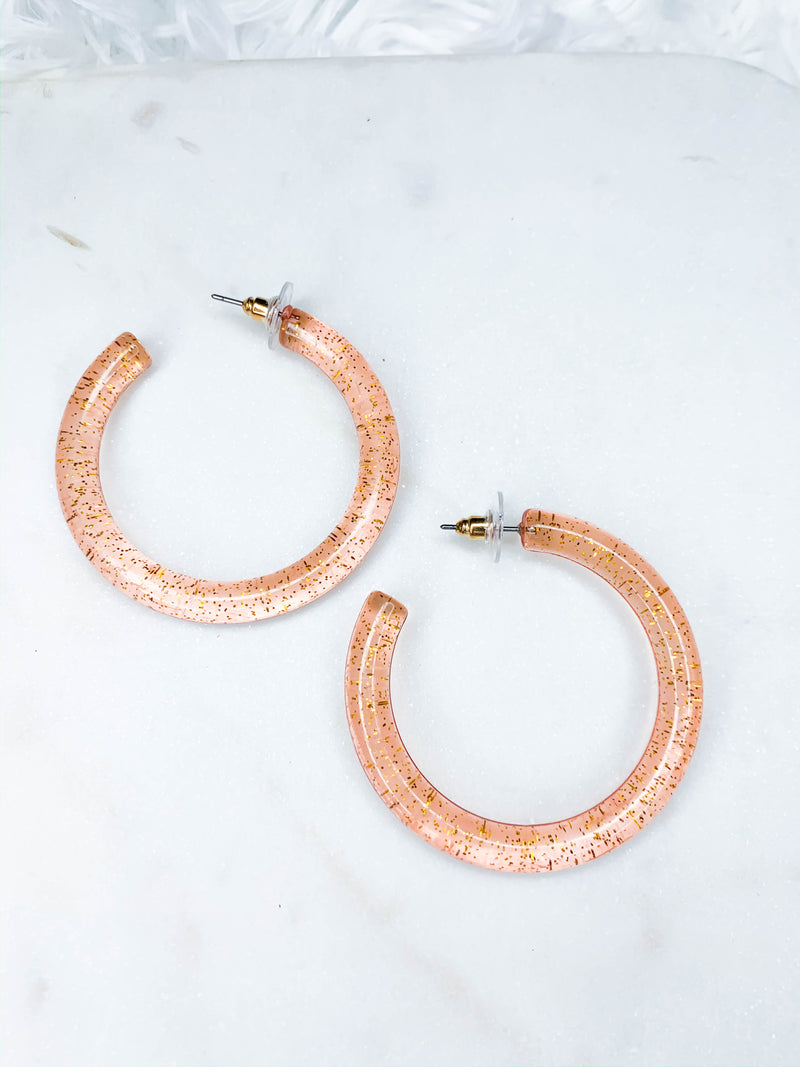 Sparkle Bright Hoops