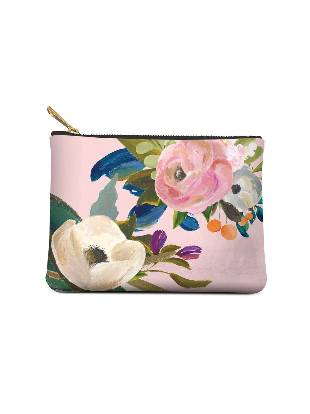 Bella Flora Small Zippered Pouch