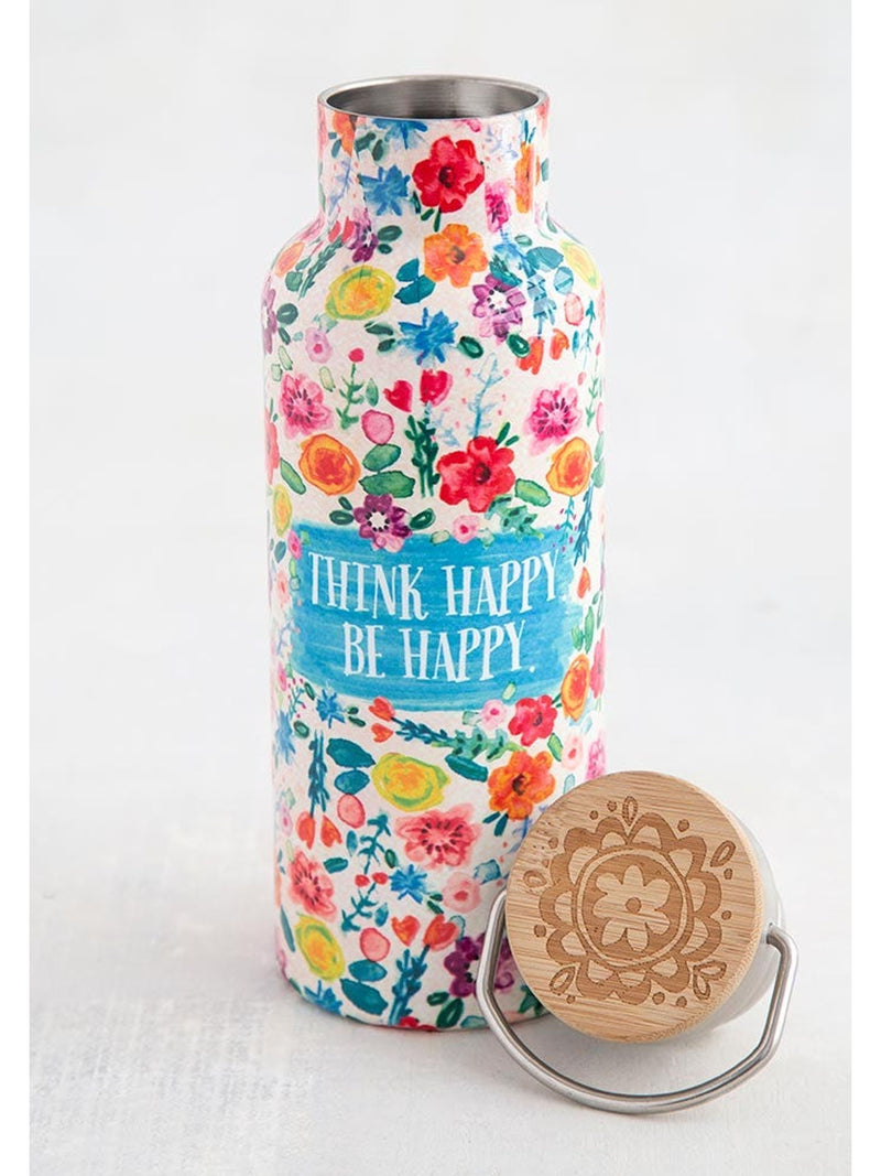 Think Happy Be Happy Traveler Bottle
