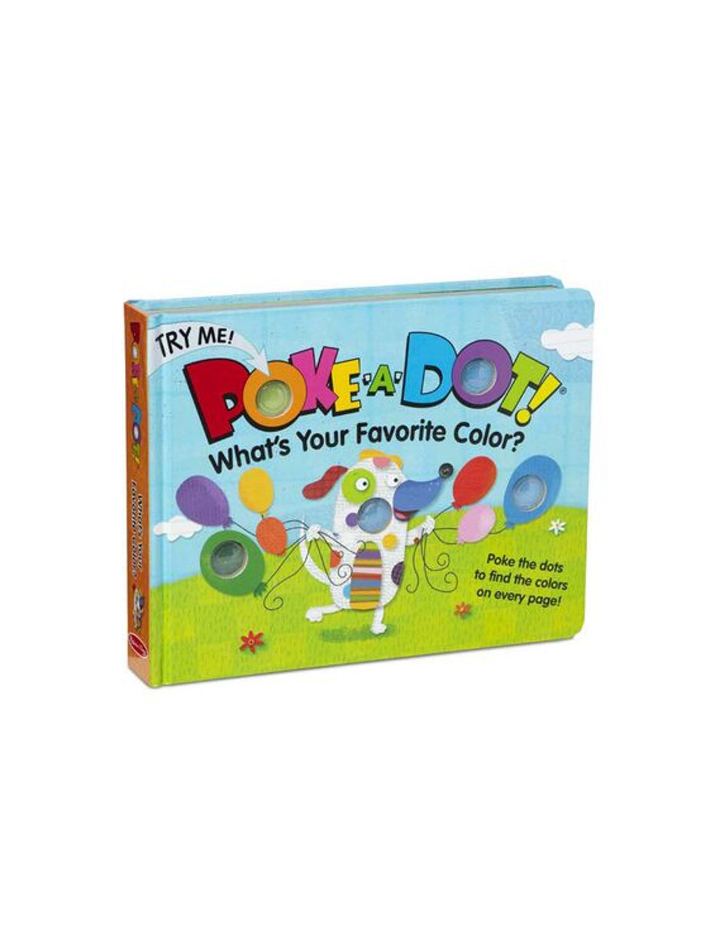 Favorite Color - Poke-A-Dot Book