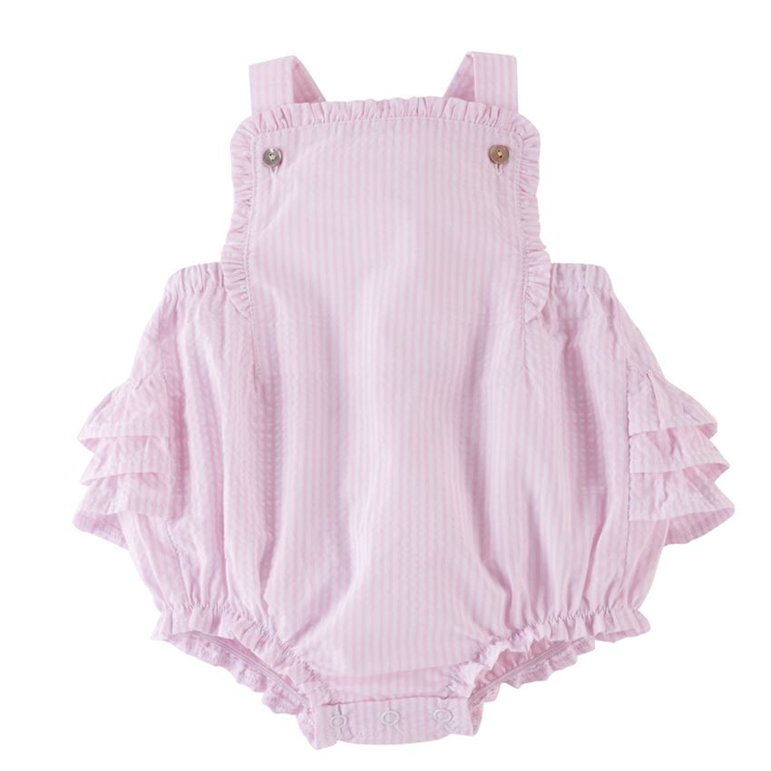 Stella Seersucker Sunsuit