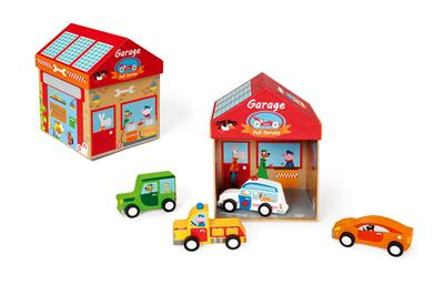 Play Box Garage 2 in 1