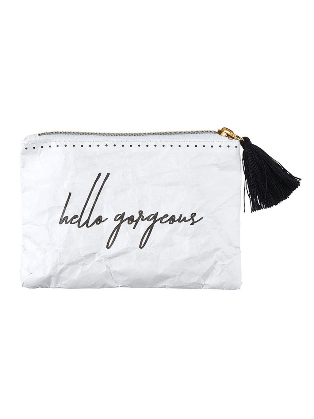 Hello Gorgeous - Tyvek Coin Purse