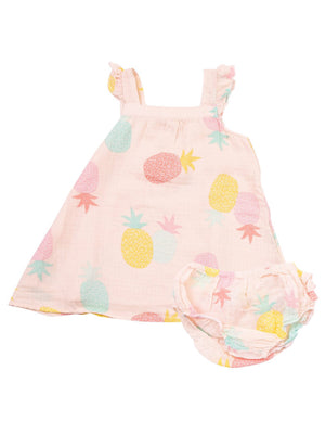 Party Pineapples Sundress