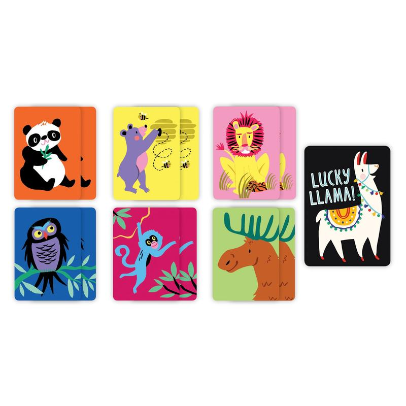 Lucky Llama! Playing Cards