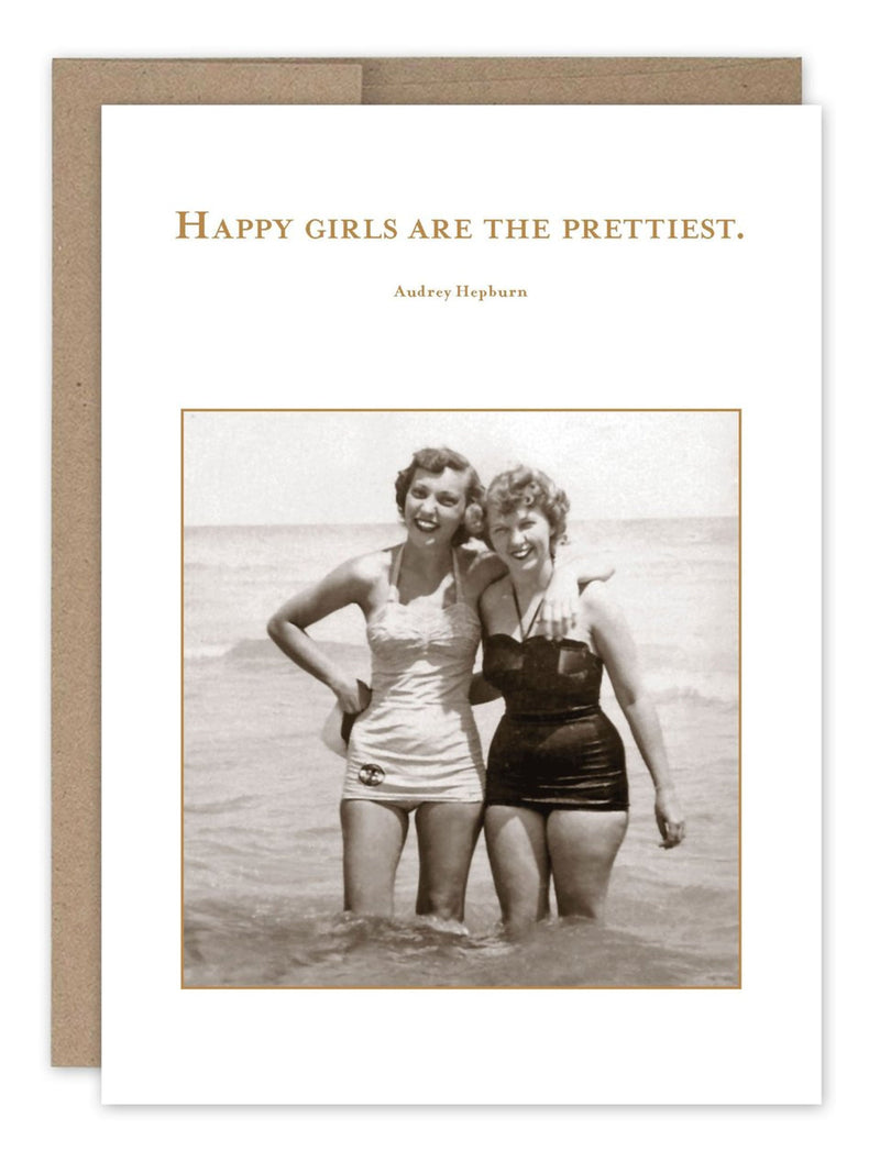 Happy Girls - Card