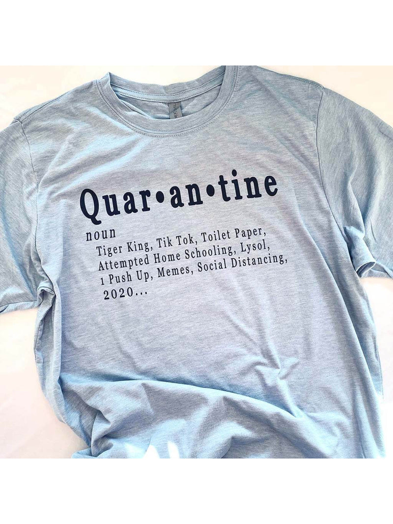 Quarantine Definition - Dusty Blue