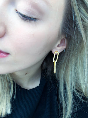 Elle Link Earrings