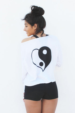 Yin Yang Long Sleeve Pullover