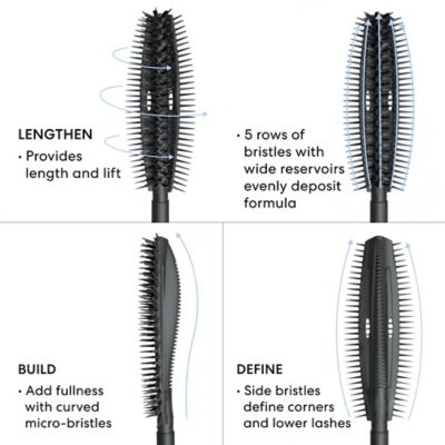 NYHET! BareMinerals Strenght and length Mascara black