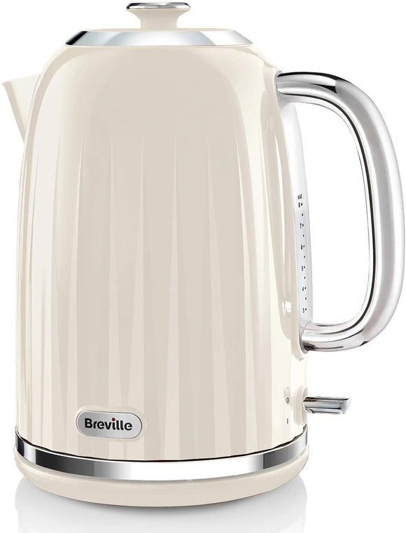 Breville Impressions Collection 1.7L Vanilla Cream Jug Kettle