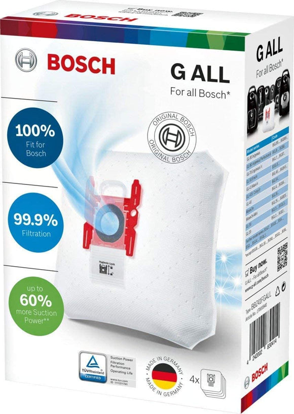 Bosch G ALL type vacuum bags - 17003048