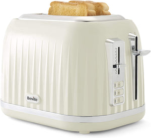 Breville Impressions Collection Cream 2 Slice Toaster