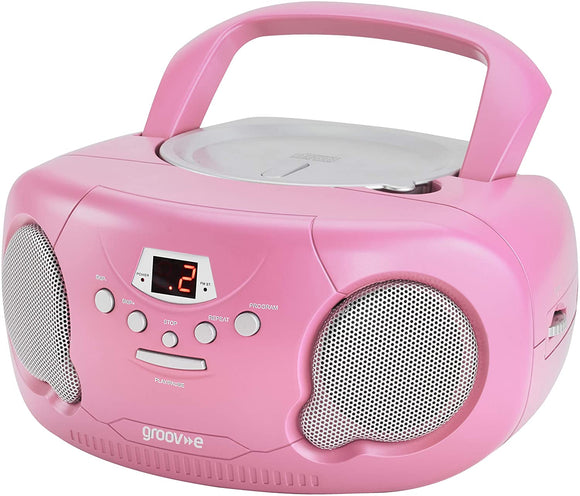 Groove Boombox CD Player with Radio