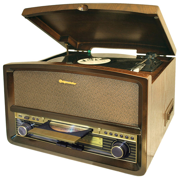 Roadstar - Wooden Retro Music System - HIF-1937TUMPK
