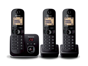 Panasonic - Digital Cordless Phones with Answering system - KX-TG6803