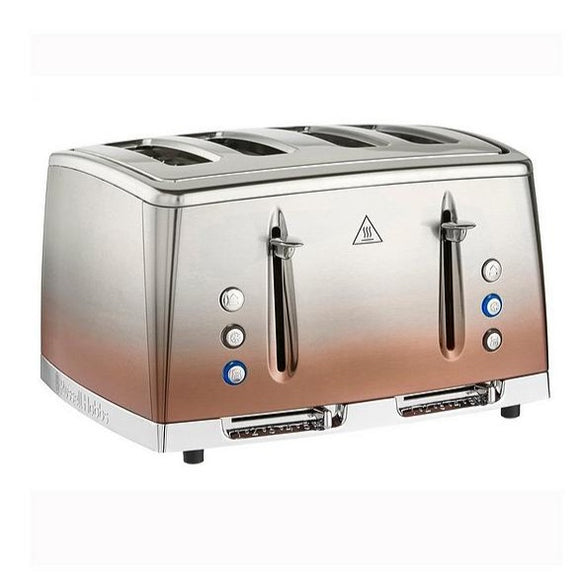Russell Hobbs Eclipse Copper Sunset 4 Slice Toaster