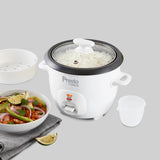 Presto Tower - 3 cup Rice Cooker & Steamer - PT19025WHT