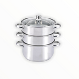 Culinary Pro by Pilot Stainless Steel Steamer Sets