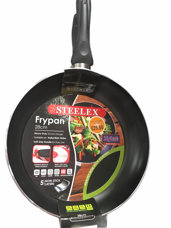 Steelex - Non Stick Frying Pan 28cm