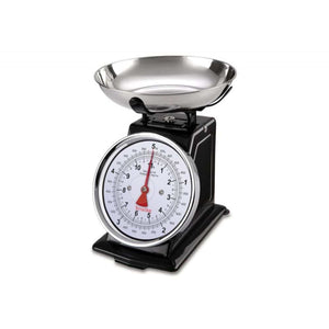 Terraillon Tradition 5KG Kitchen Scales - Black