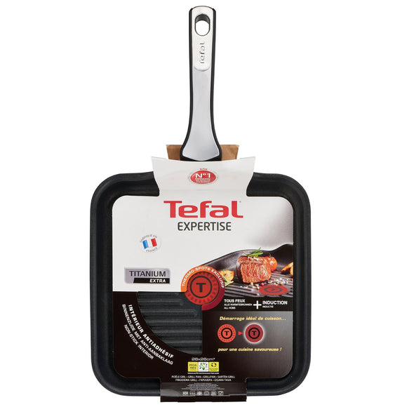 Tefal - Expertise Grill Pan  -  26 x 26cm