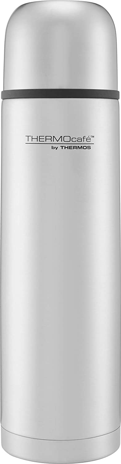 Thermos ThermoCafé Stainless Steel Flask 1 Litre