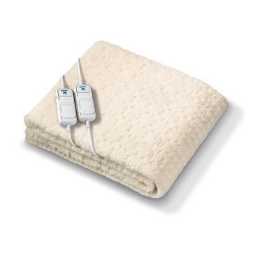 Monogram by Beurer komfort Electric Blanket  - Sumptuous Soft Fleece